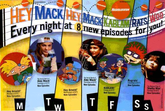 Schedule 1997   Nickelodeon   FANDOM powered by Wikia