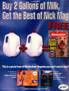 Best of Nickelodeon Magazine print ad Oct 1999 Zelda Van Gutters