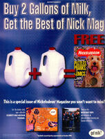 Best of Nickelodeon Magazine print ad Oct 1999 Zelda Van Gutters