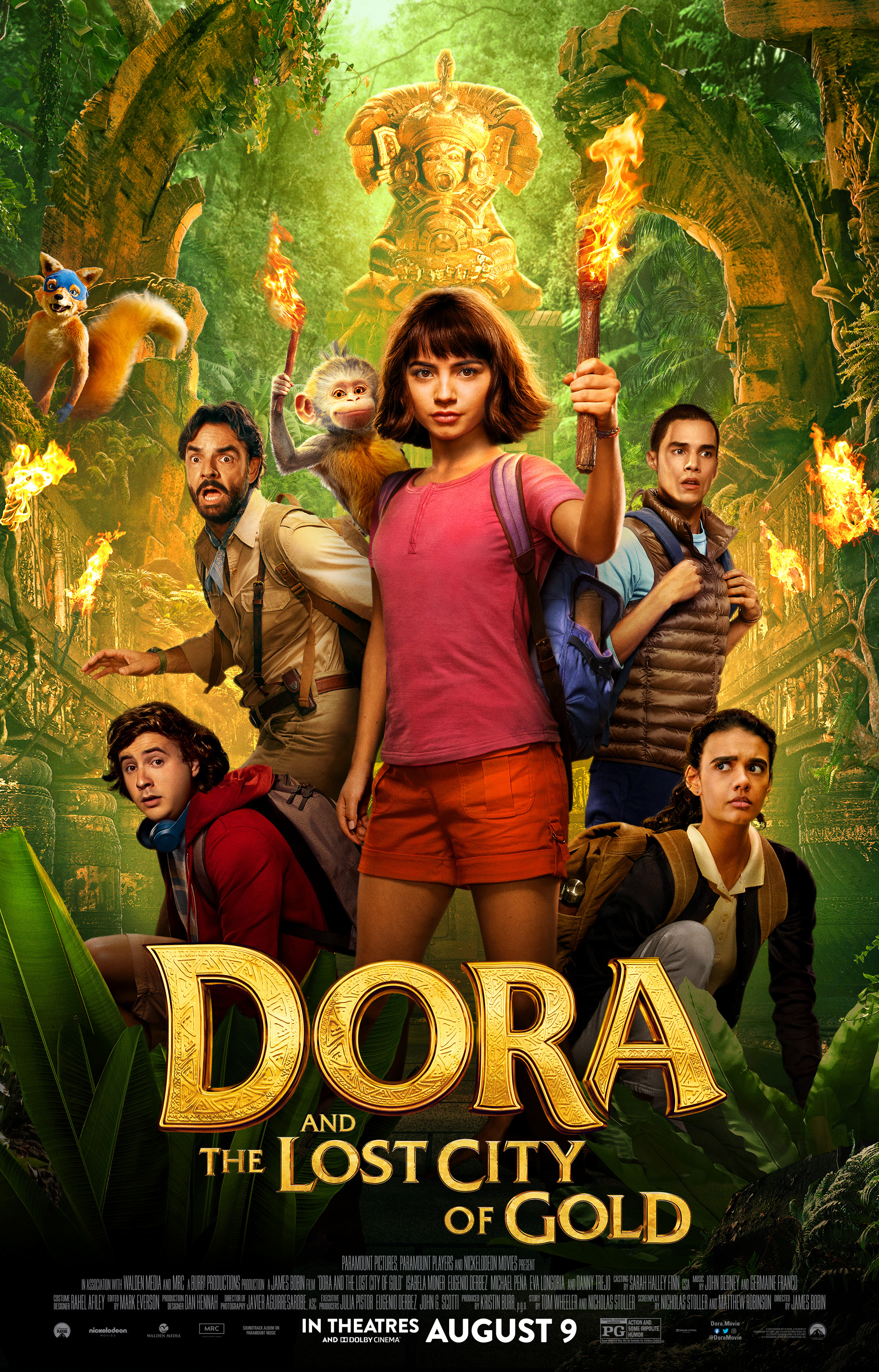 Dora And The Lost City Of Gold Nickelodeon Fandom