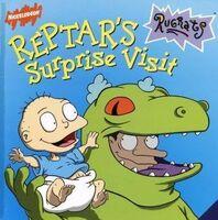 Rugrats Reptar's Surprise Visit Book