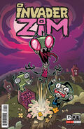 Invader Zim Comic Number 1