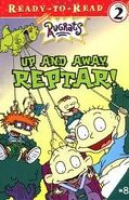 Rugrats Up and Away Reptar! Book