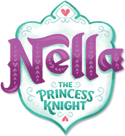 Nella the Princess Knight logo