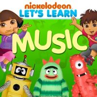 Nickelodeon - Let's Learn Music 2012 iTunes Cover