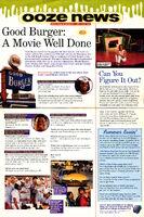 Nickelodeon Magazine June July 1997 ooze news Good Burger movie Summer Sanders