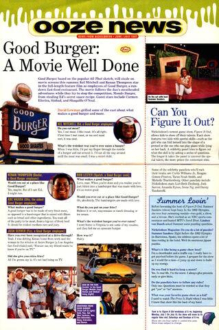 File:Nickelodeon Magazine June July 1997 ooze news Good Burger movie Summer Sanders.jpg