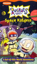Rugrats Space Kiddets VHS