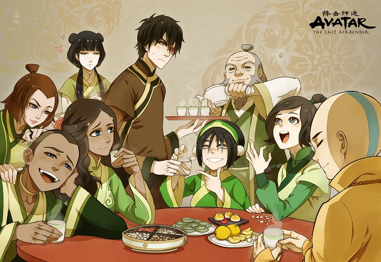 Avatar The Last Airbender Characters