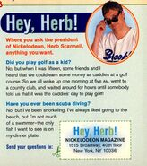 Hey Herb Scannell NickMag Aug 1999