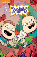 Rugrats 4 Comic Cover Book