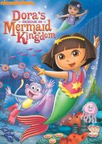 Dora the Explorer Dora's Rescue in Mermaid Kingdom DVD
