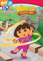 Dora the Explorer World Adventure DVD