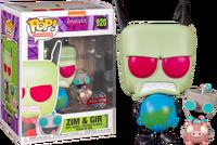Zim and GIR FUNKO Pop