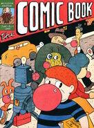 Nickelodeon Magazine The Comic Book cover june july 2000