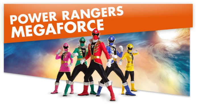 Power Rangers Megaforce1