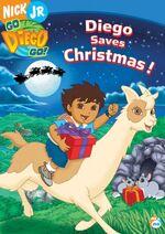 Go Diego Go! Diego Saves Christmas! DVD