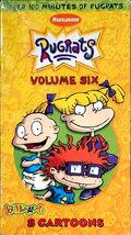 Rugrats Volume 6 VHS