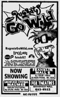 Rugrats Go Wild Movie ad