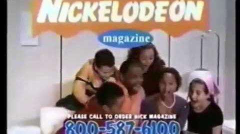 Nickelodeon Magazine Ad- Got That (2000)