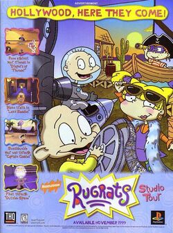 Rugrats Studio Tour Advertisement