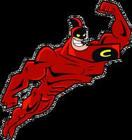 Crimson Chin stock art