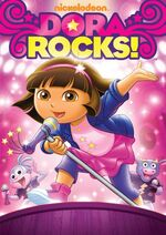 Dora the Explorer Dora Rocks DVD