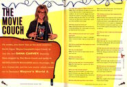 Nickelodeon Magazine Holiday 1993 Dana Carvey interview Waynes World Garth Algar p70 p71