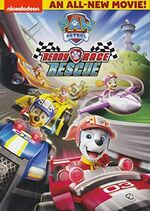 PAW Patrol Ready Race Rescue DVD