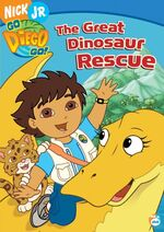 Go Diego Go! The Great Dinosaur Rescue DVD