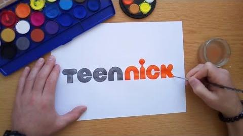 How to draw the TeenNick logo