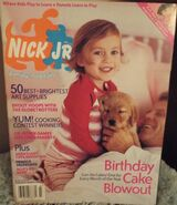 Nick Jr Magazine cover Feb March 2003