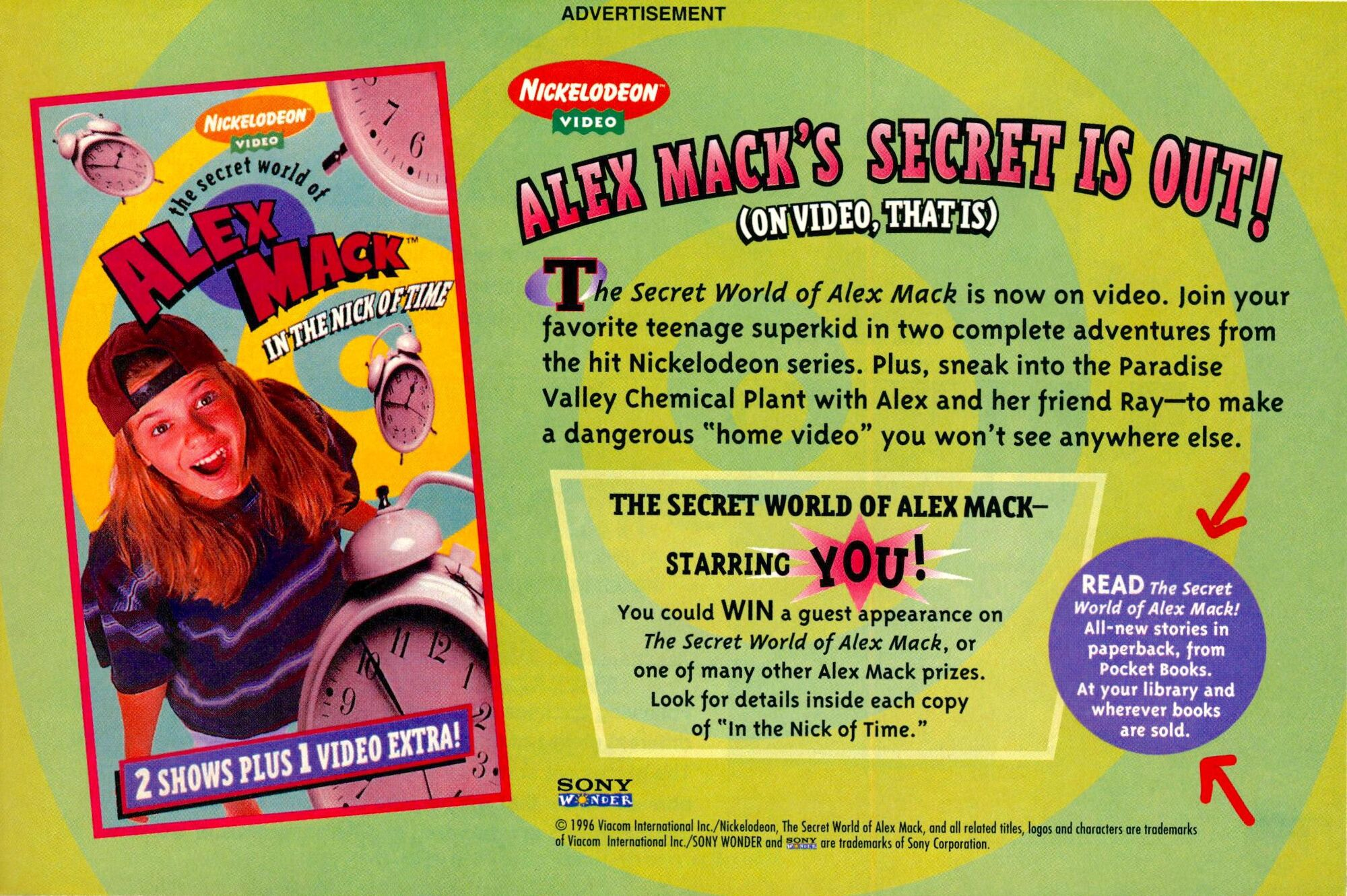 The Secret World of Alex Mack Nickelodeon