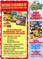 Nicktoons comics club print ad NickMag dec jan 2009