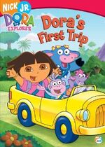 Dora the Explorer Dora's First Trip DVD