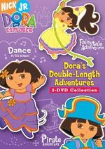 Dora the Explorer Dora's Double-Length Adventures DVD