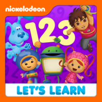Nickelodeon - Let's Learn 123's 2012 iTunes Cover