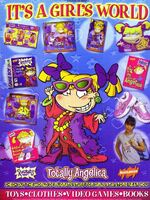 Rugrats Totally Angelica print ad