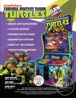 Tmnt arcade game print ad