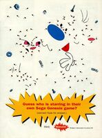 1993 Sega Genesis Ren & Stimpy Brain Teaser Puzzle video game magazine print ad