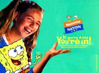 Nickelodeon Nation Print Advertisement2