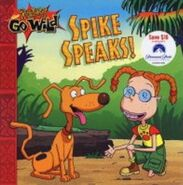 Rugrats Go Wild Spike Speaks Book
