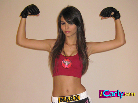 Teen fighter shelby marx