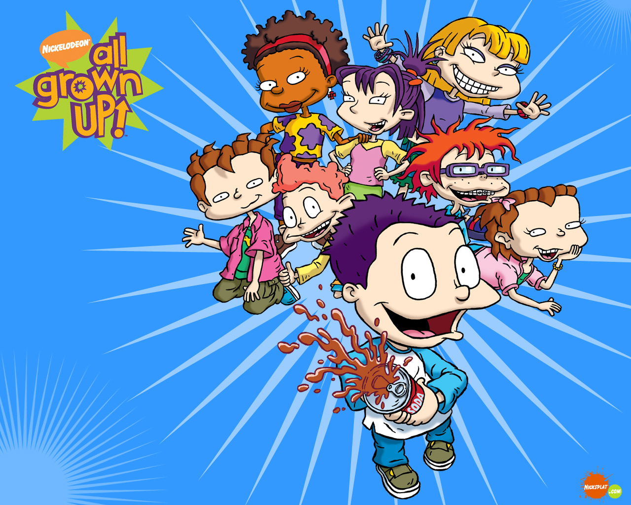 List Of All Grown Up Characters