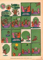 Scene but not Heard Nick Mag comic August 2003