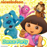 Nickelodeon - Dance Party 2007 iTunes Cover