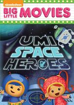 Team Umizoomi Umi Space Heroes DVD