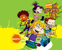 All Grown Up Girls Wallpaper