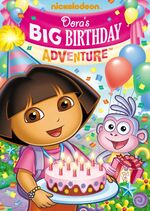 Dora the Explorer Dora's Big Birthday Adventure DVD