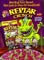 Reptar crunch print ad